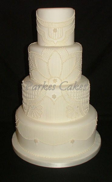 Cake Art Company Kirkland : wedding cake fifty five