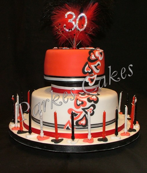 2 tier birthday cake