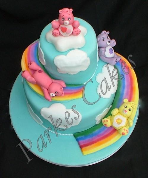 care bear cakes