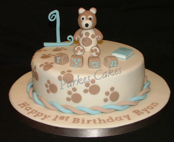 charley bear birthday cake