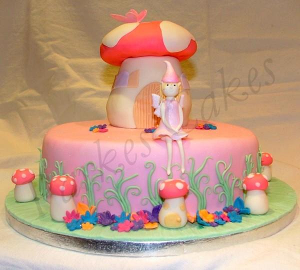 How To Make A Fairy Toadstool Cake