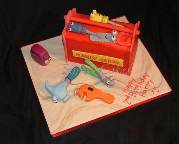 handy manny birthday cake
