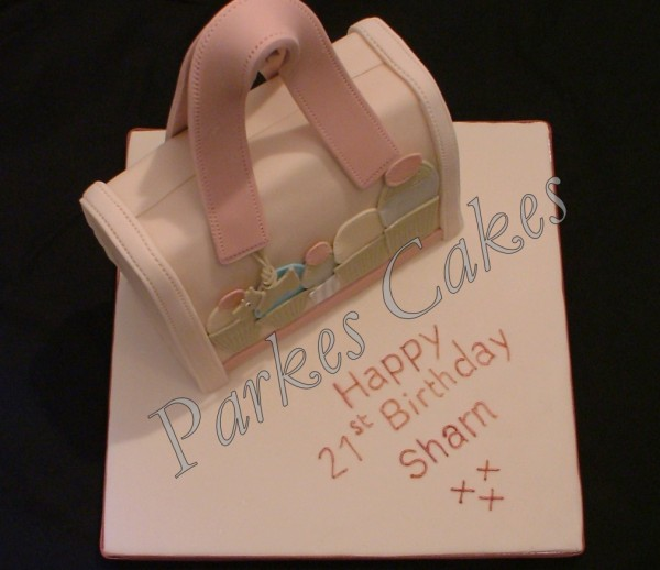 radley bag birthday cake