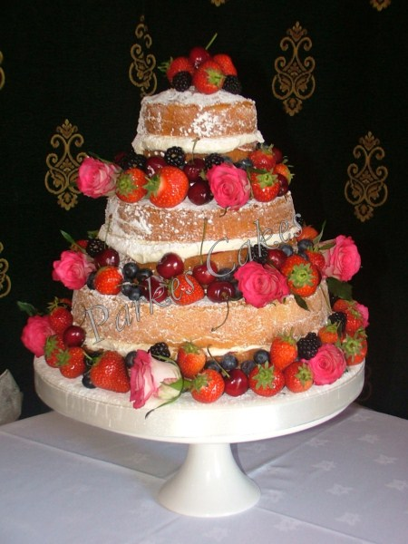 Tiered Victoria Sponge Wedding Cake Recipe