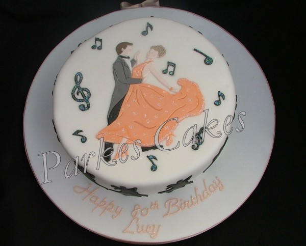tea dancers birthday cake