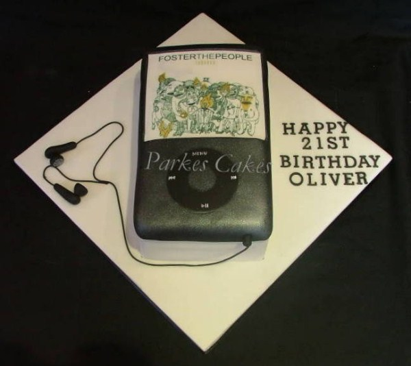 ipod birthday cake