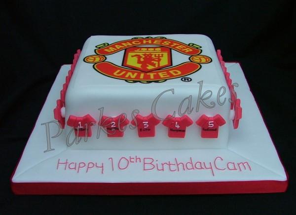 manchester united cake parkes cakes by natasha