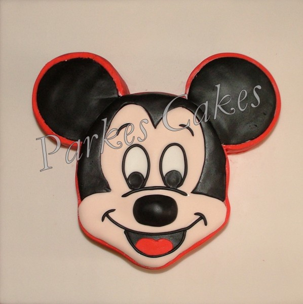 Pictures Of Mickey Mouse Face Cakes : mickey mouse birthday cake